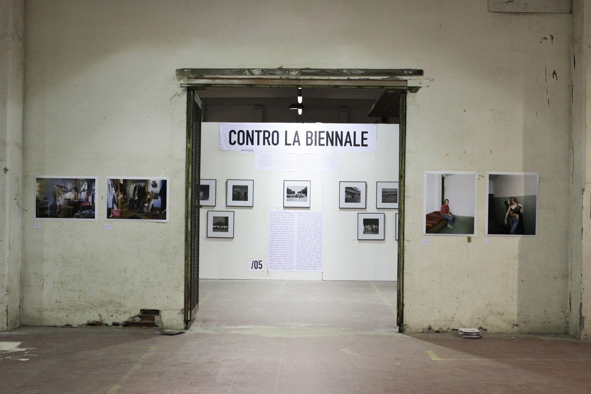 Photissima Festival, 2012, vedita allestimento, Ex Manifattura Tabacchi