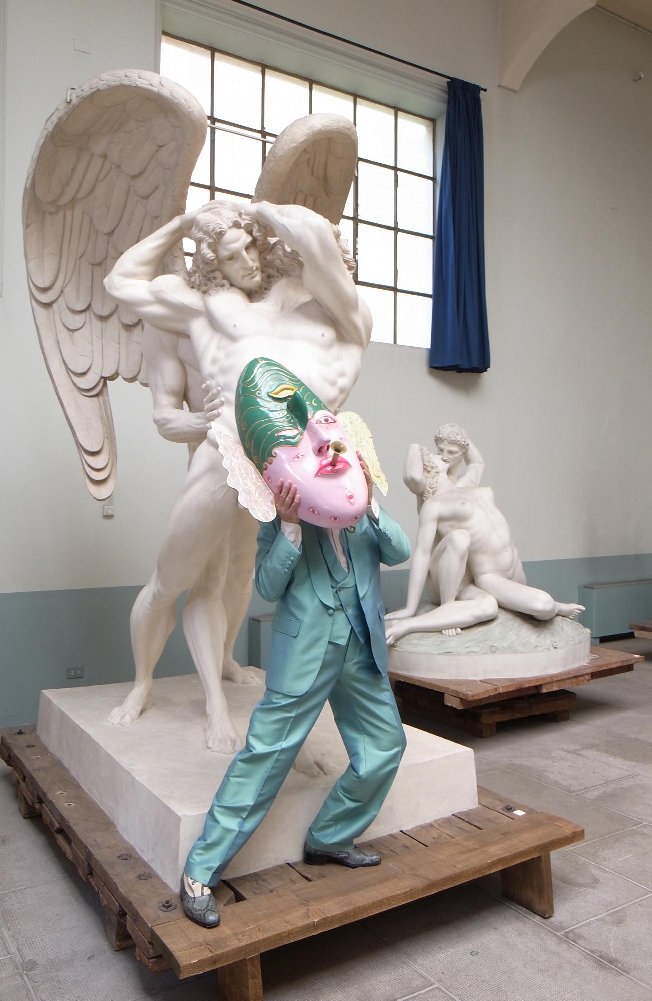 Luigi Ontani, Museo Hendrik Christian Andersen, Roma