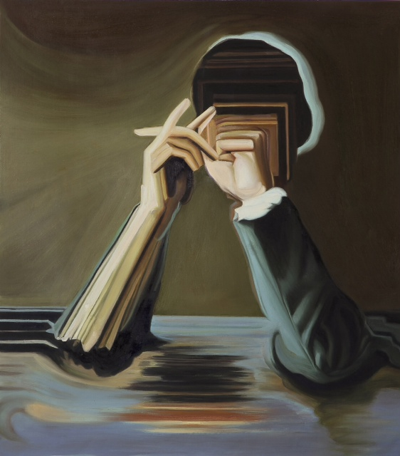 Maurizio Bongiovanni, Untitled, 2012, olio su tela, 70x60cm