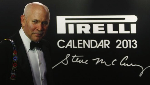 Steve McCurry per il calendario Pirelli 2013