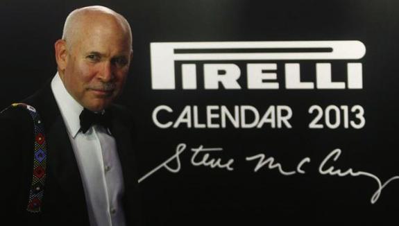 Steve McCurry per il calendario Pirelli 2013