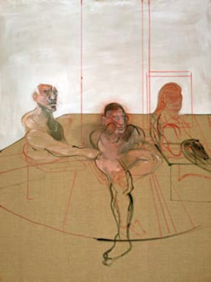 Francis Bacon, Untitled (Three Figures), c. 1981 Olio su tela / Oil on canvas 198 x 147,5 cm Dublin City Gallery The Hugh Lane, Dublin (reg. 1982) © 2012 The Estate of Francis Bacon. All rights reserved. BY SIAE, Roma, and DACS, London