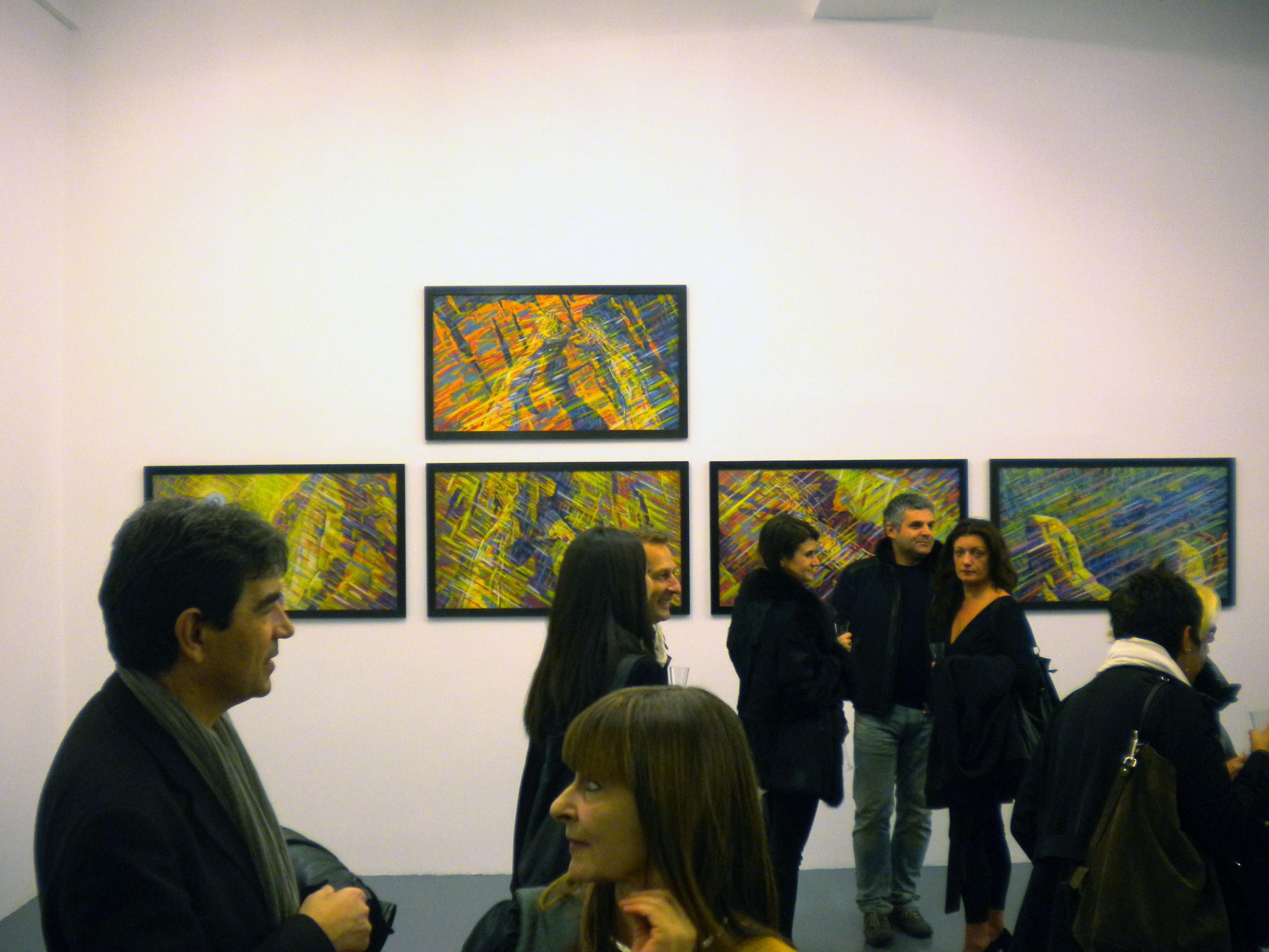 Galleria Giovanni Bonelli, serata di inaugurazione giovedì 29 novembre 2012