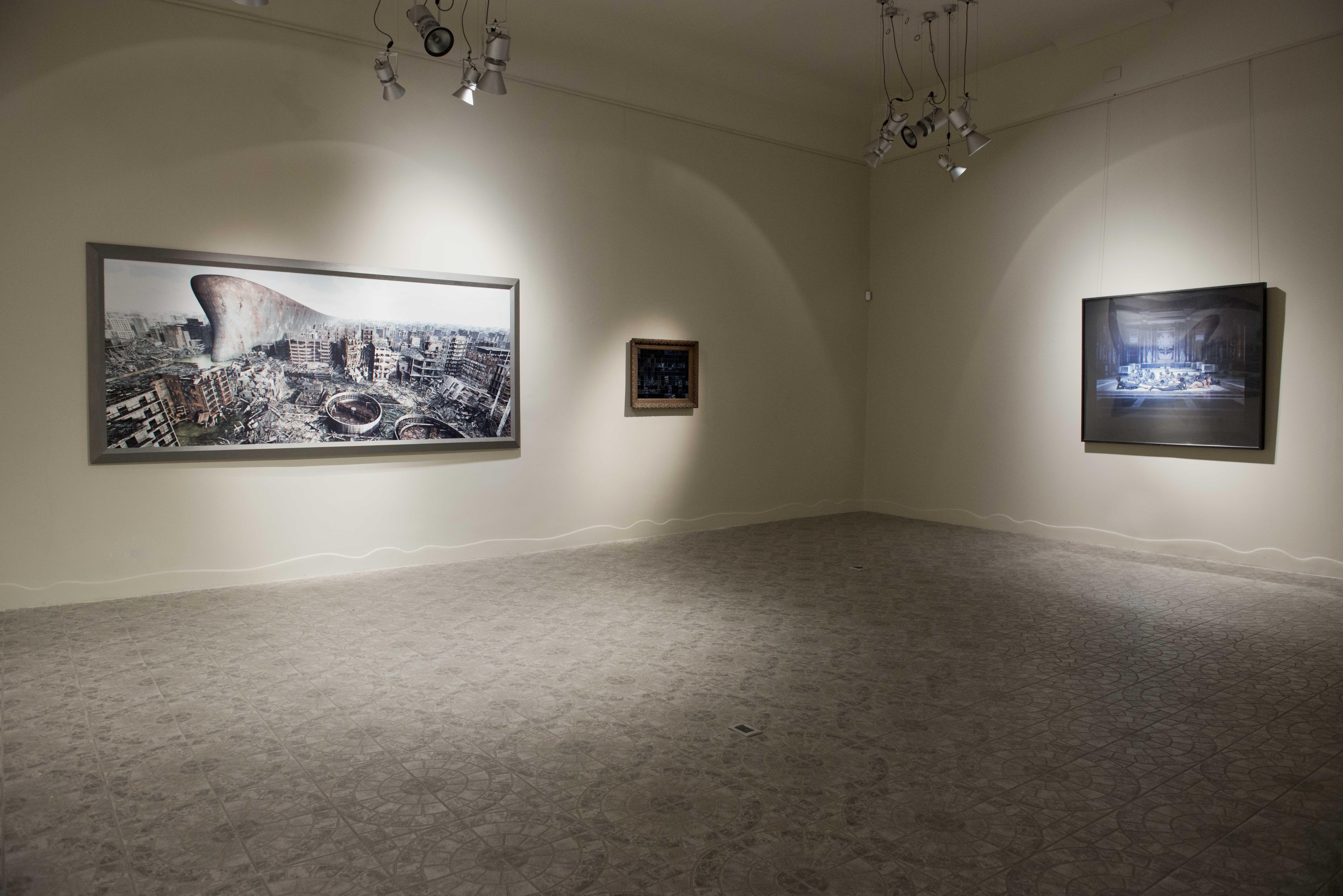 Mapping Identities, veduta della mostra in galleria, Guidi&Schoen Arte Contemporanea, Genova. Foto: Nuvola Ravera