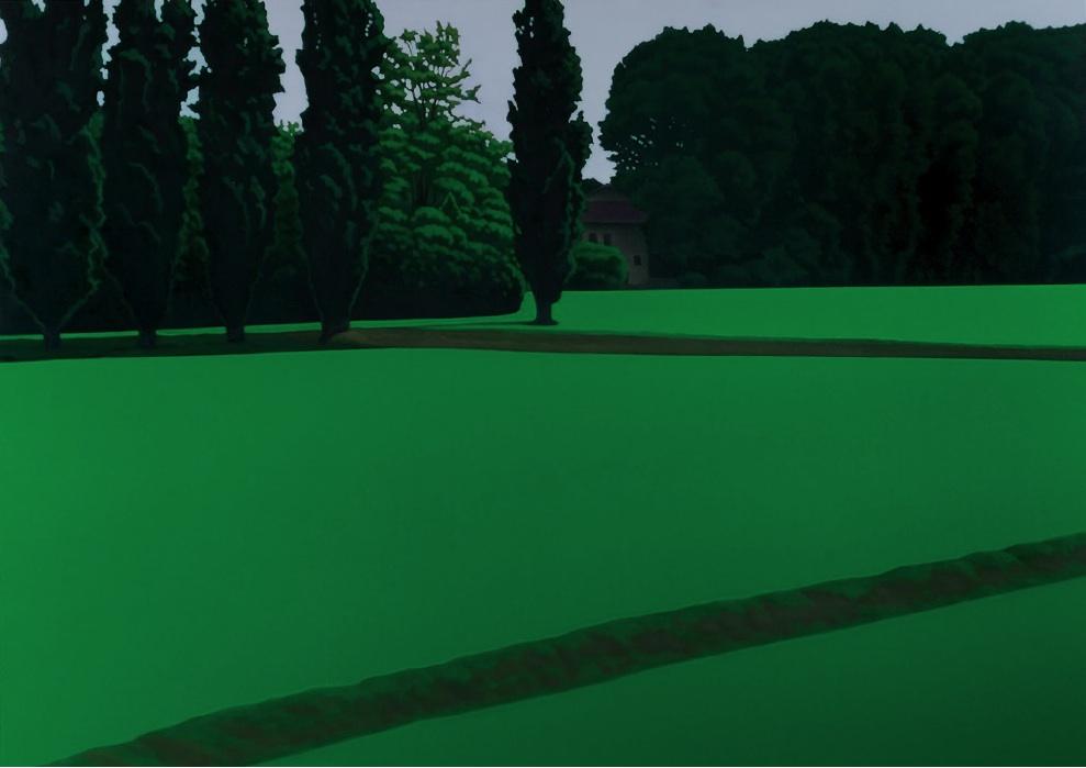 Valentina D'Amaro, Senza titolo, 2012, olio su tela, 100x140cm