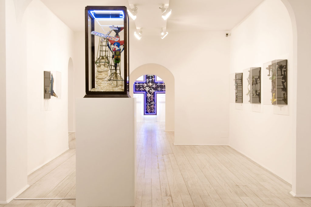 Zhivago Duncan, Papillon, installation view
