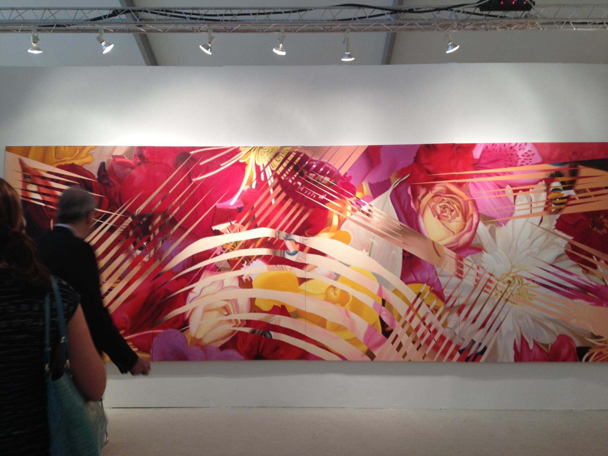 Rosenquist @ Wetterling Gallery artmiami