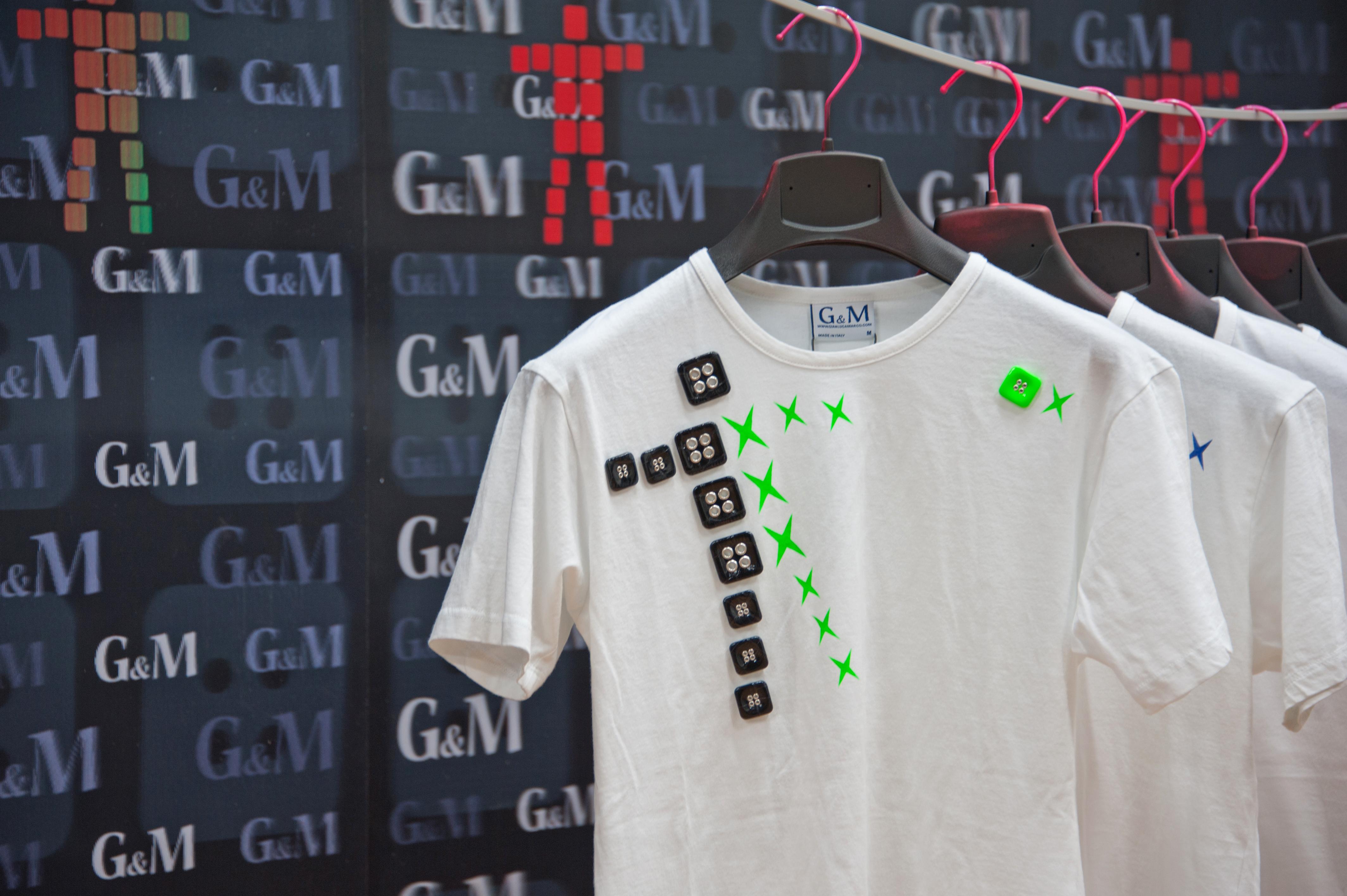 Vincenzo Marsiglia + G&M, T-shirt d'artista per campagna abbonamenti Espoarte 2013