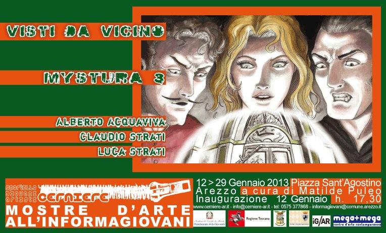 MYSTURA 3 Alberto Acquaviva  /  Claudio Strati  /  Luca Strati