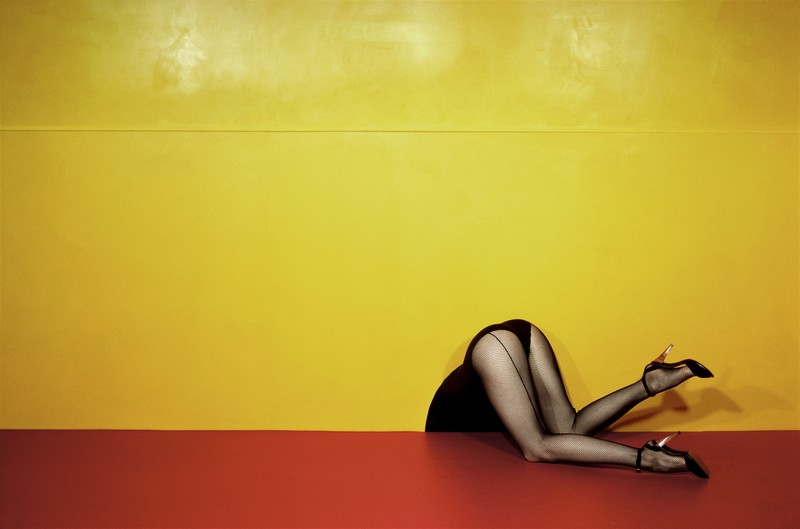 Guy Bourdin, Charles Jourdan, Spring 1979 © Estate of Guy Bourdin