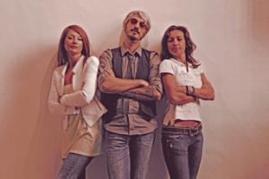 SetUp Art Fair, 2013, il direttivo: Simona Gavioli, Marco Aion Mangani, Alice Zannoni