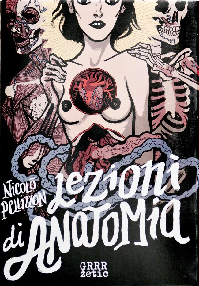Nicolò Pellizzon, Lezioni di Anatomia, cover