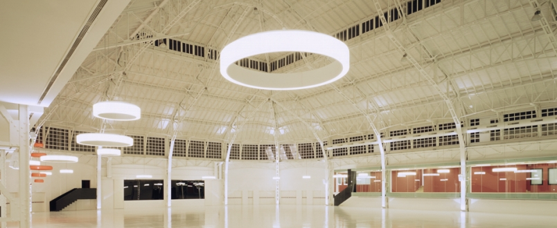 Palazzo del ghiaccio Milano, veduta interno