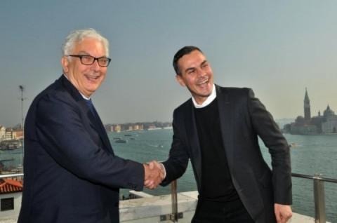 Paolo Baratta e Massimiliano Gioni
