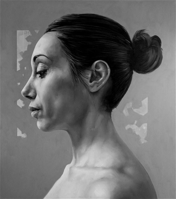 Silvio Porzionato, Untitled, 2013, olio su tela, cm. 170x150 [800x600]