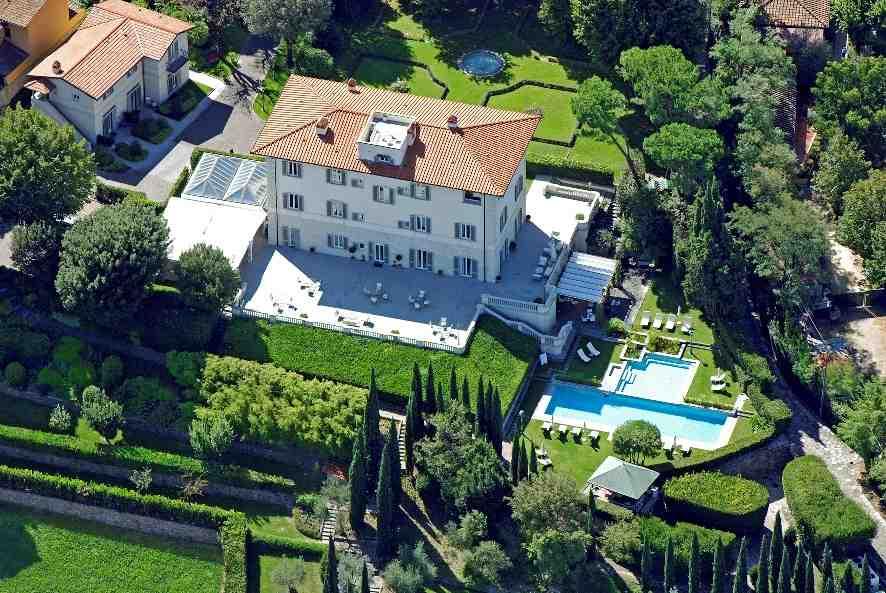 Artour-o Il MUST 2013, Villa La vedetta, Firenze, veduta aerea