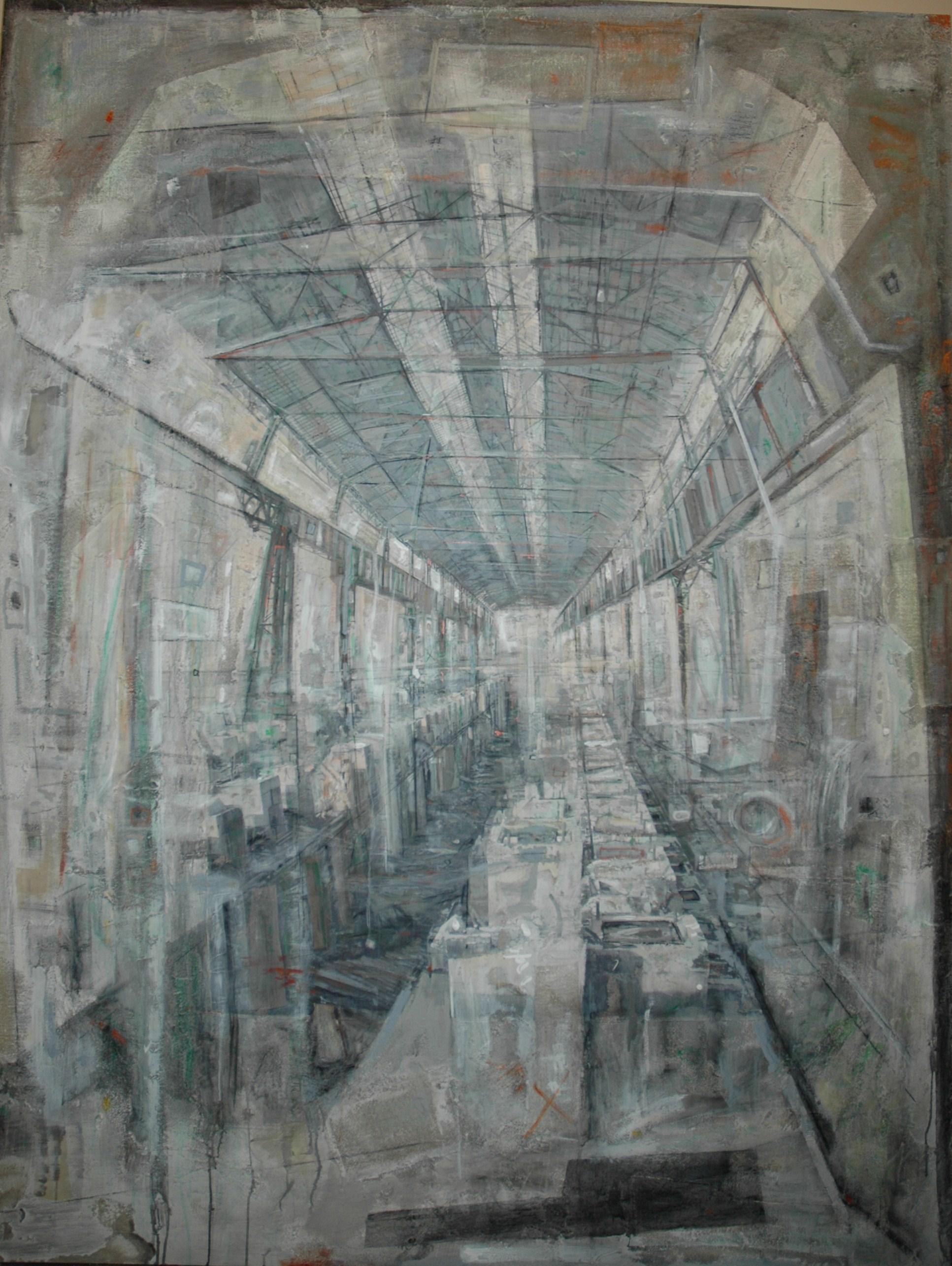 Daniela Gullotta, Laminatoio - Vasche Pompei ex Falck, 2012, 260x200 cm