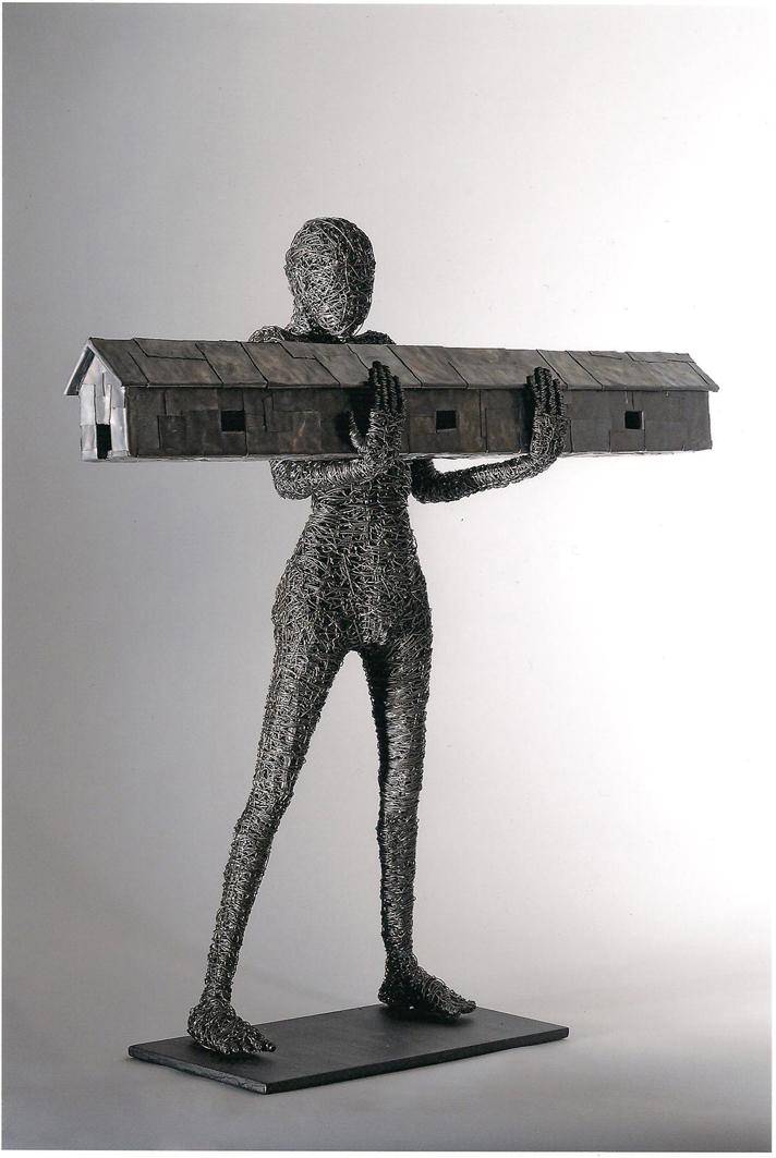 Figure di metallo le matasse antropiche di fabrizio for Materico significato