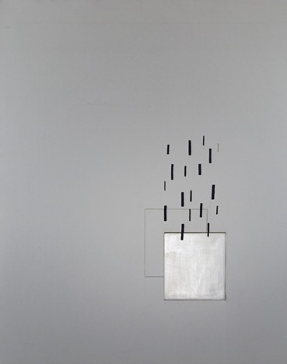 Arturo Vermi, Rendez-vous, 1968, acrilico su tela 117x91,5 cm