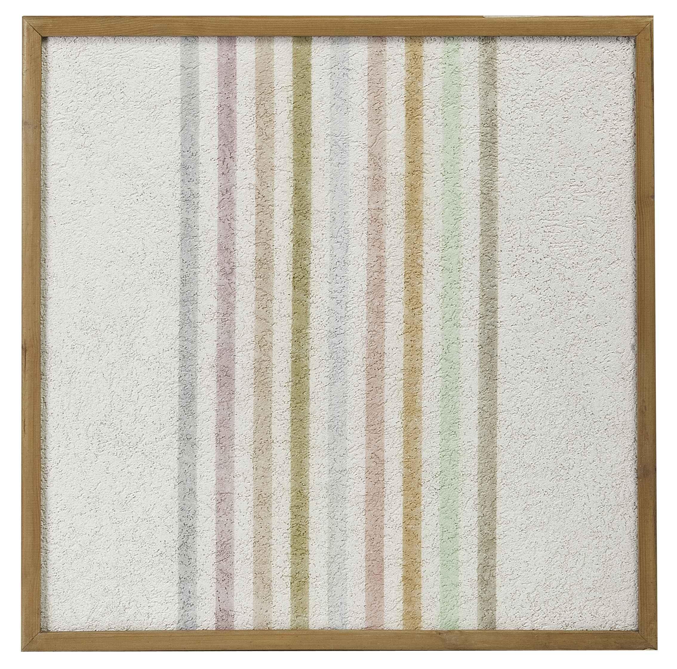 Elio Marchegiani, Grammature di colore - supporto intonaco n.54, 1974, cm 51.5x 51.5
