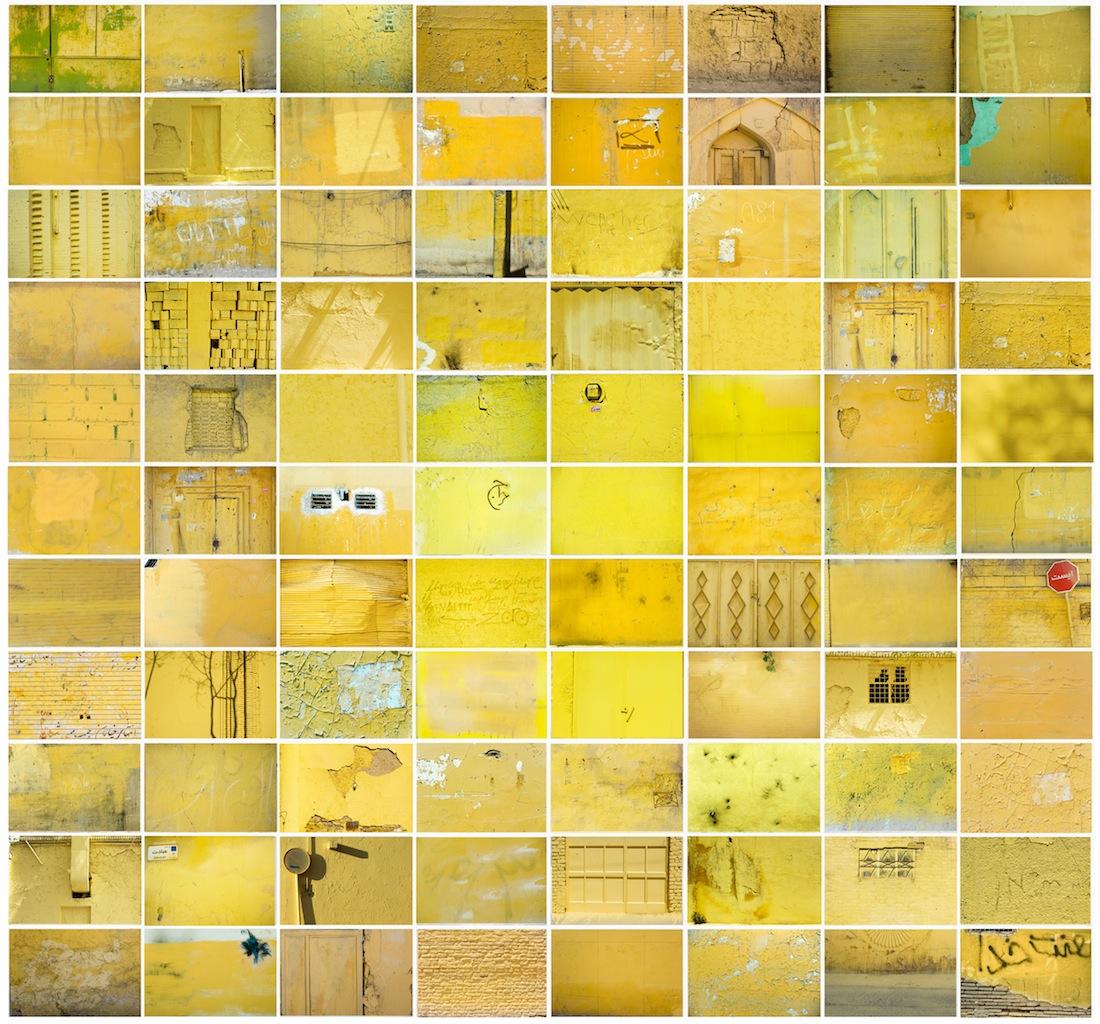 Maziar Mokhtari, Palimpsest, 2012, Stampa lambda, 88 pezzi fotografici, cm 123,5x 115, Edizione 1_5 + 2 p.a., Edizione OltreDimore, Bologna
