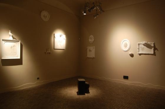 Roberto Coda Zabetta, Verità | Verdade, veduta della mostra da Guidi&Schoen arte contemporanea, Genova