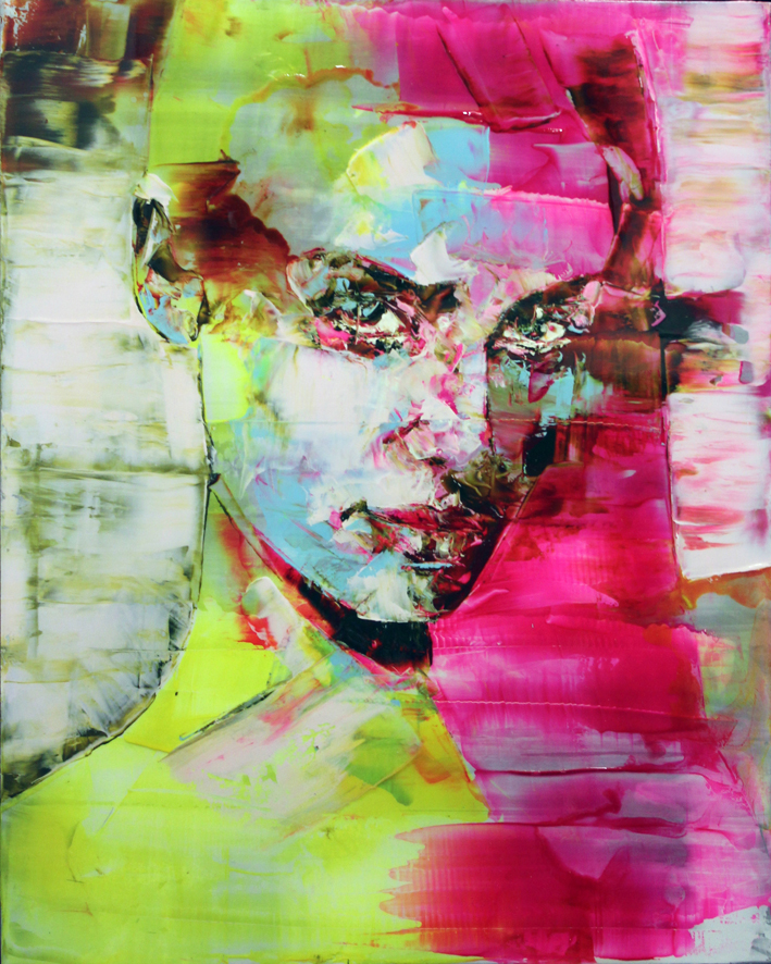 Marco Grassi, un'opera della mostra Presenze alla Loft Gallery di Corigliano Calabro
