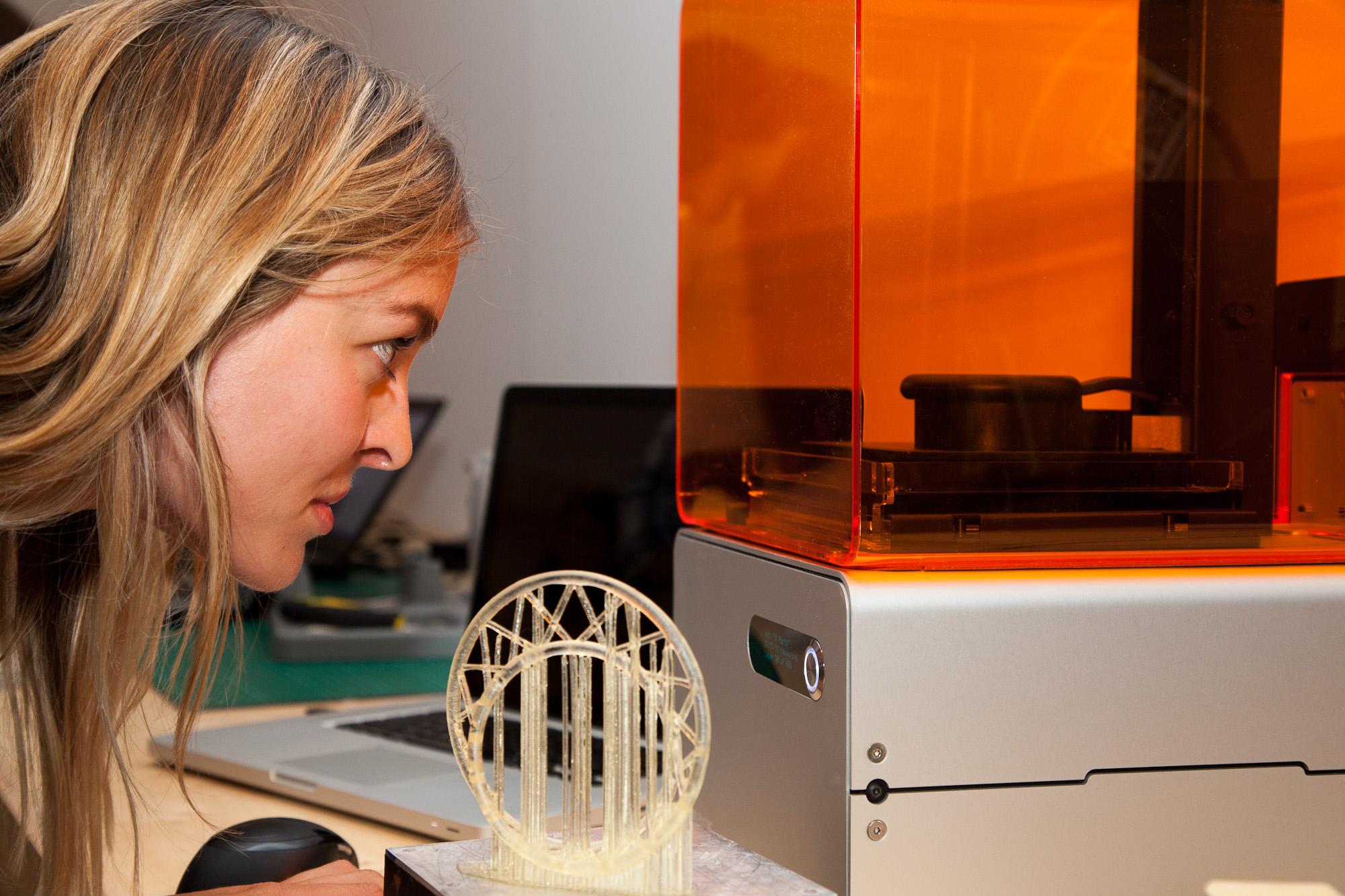 3D Printing Factory al Design Museum, Londra