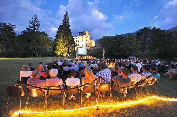 Castello Gamba, attività estive. Foto: Pallu