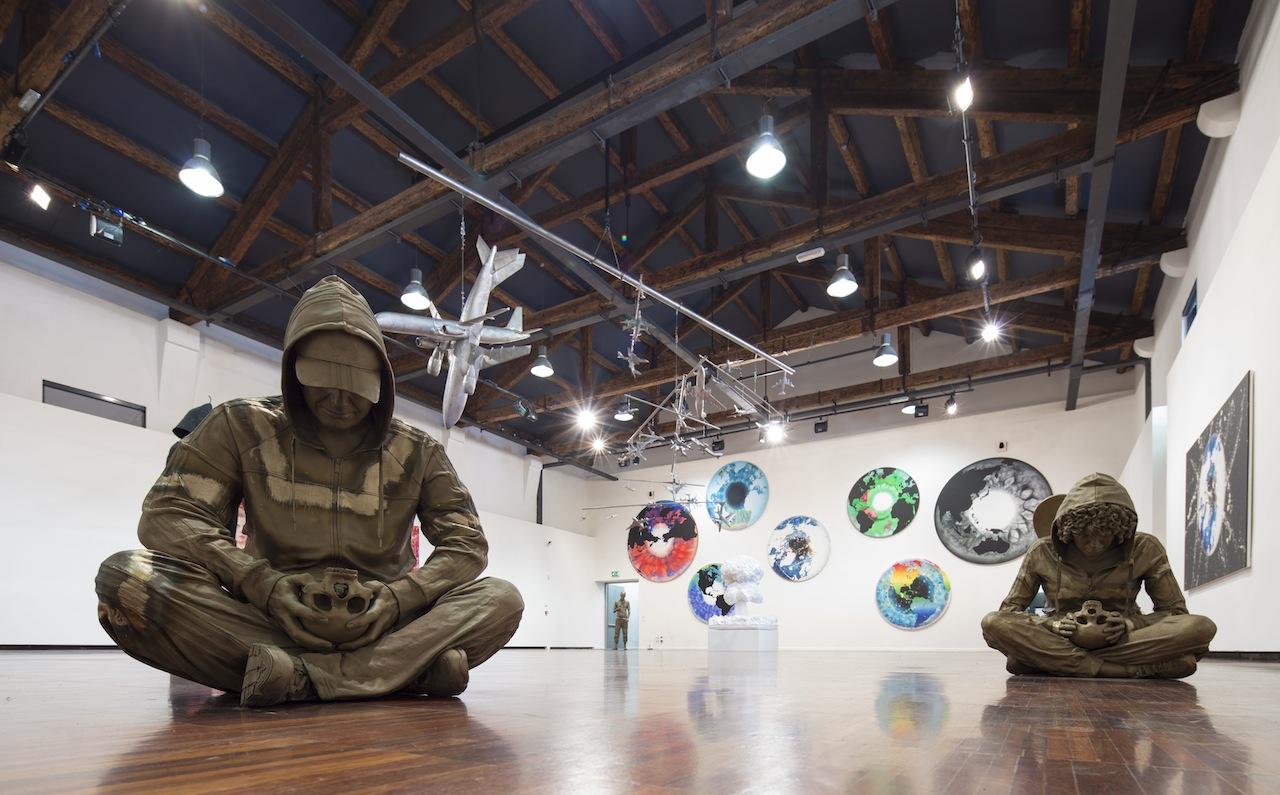 Marc Quinn, veduta di installazione, Fondazione Giorgio Cini, Isola di San Giorgio Maggiore Venezia. Foto: Matteo De Fina