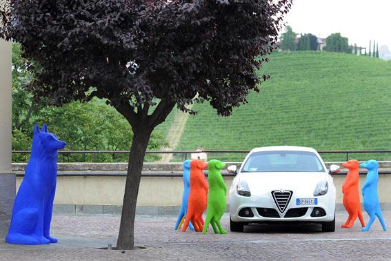 Collisioni 2013. Cracking Art Group, Suricati, Lupo Barolo e Alfa Romeo MiTo
