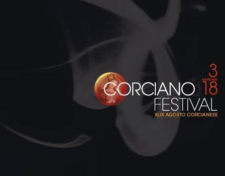Corciano Festival 2013, particolare della locandina