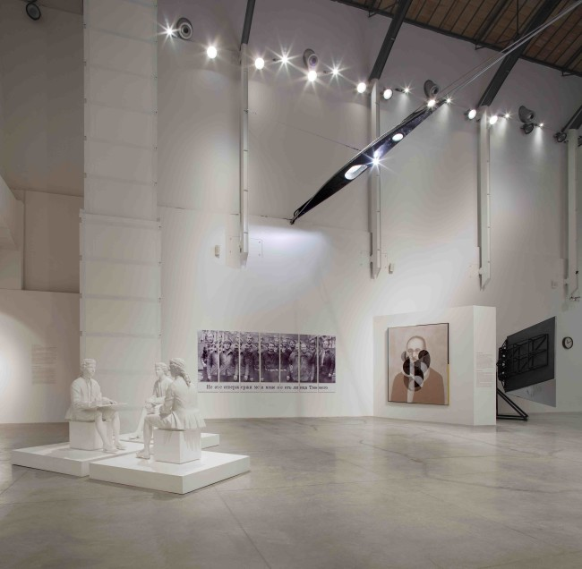 La Grande Magia. Opere scelte dalla Collezione UniCredit, veduta della mostra, MAMbo, Bologna Credits Matteo Monti