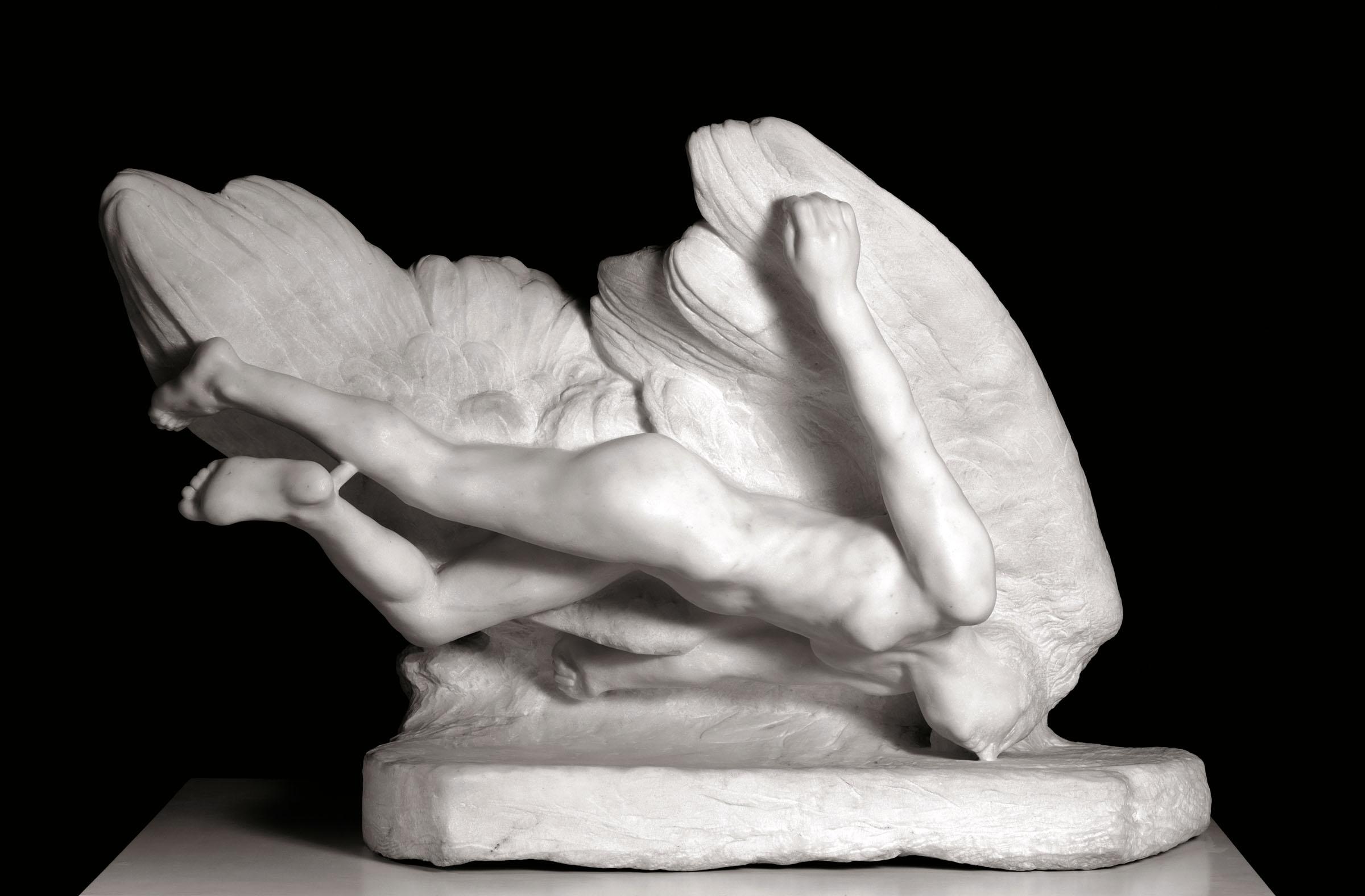 Auguste Rodin, Illusione, sorella di Icaro, 1894-1896 © Musée Rodin, Parigi Foto di Christian Baraja