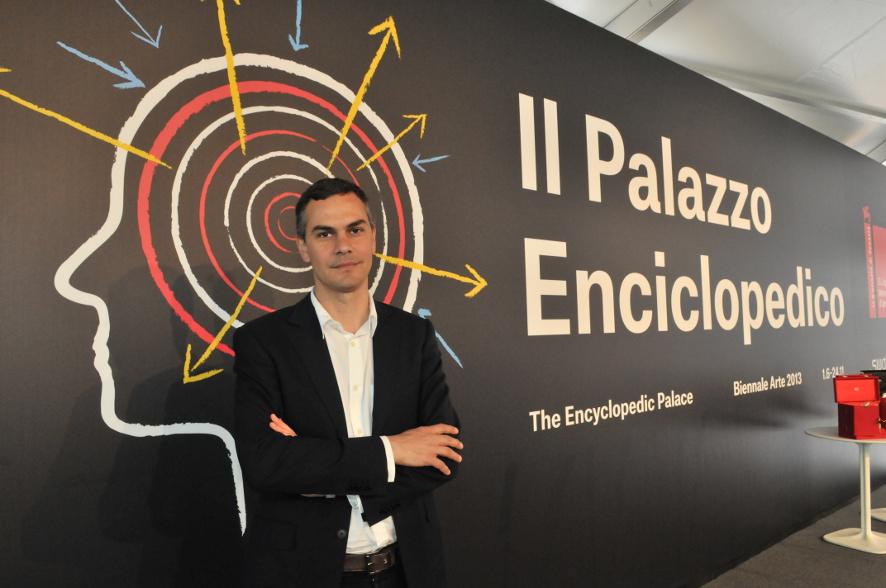 Massimiliano Gioni - Foto Giorgio Zucchiatti