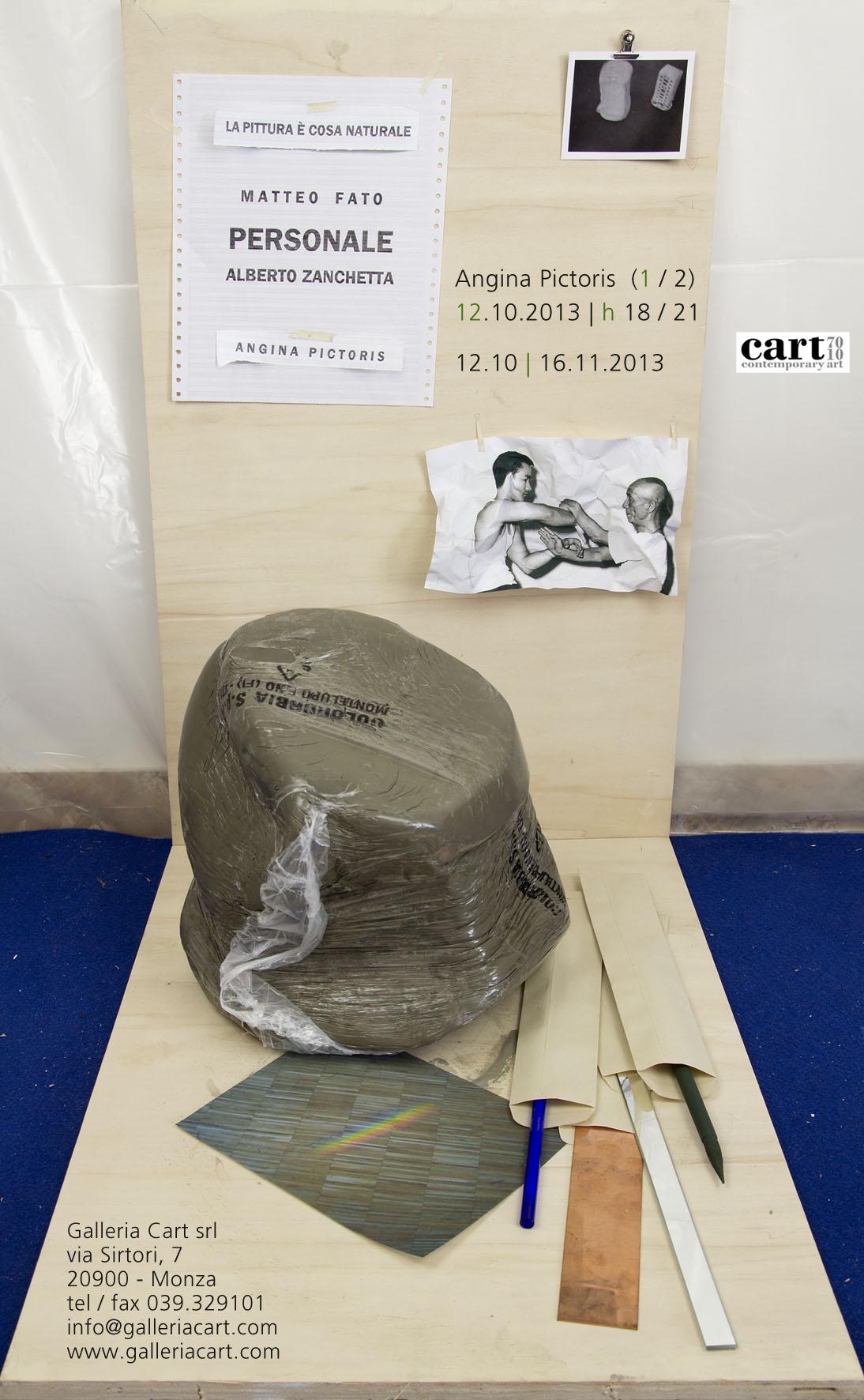 PERSONALE - Angina Pictoris, Galleria Cart, Monza