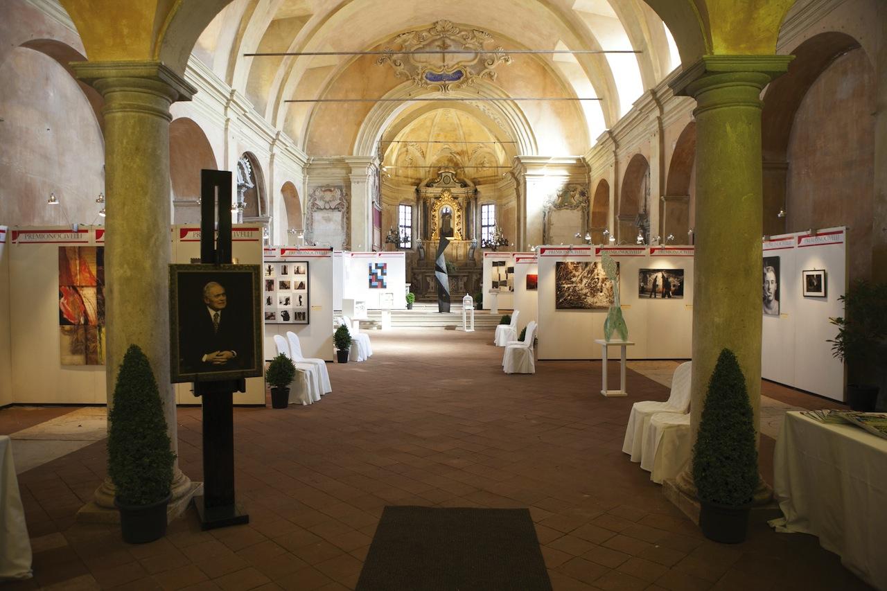 Premio Nocivelli 2013, Chiesa della Disciplina, veduta allestimento