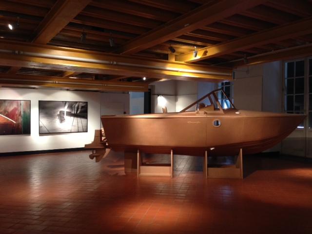 Veduta della mostra Gilmour&Mathis. L'arte contemporanea incontra l'industria. Palazzo Ducale - Liguria Spazio Aperto, Genova