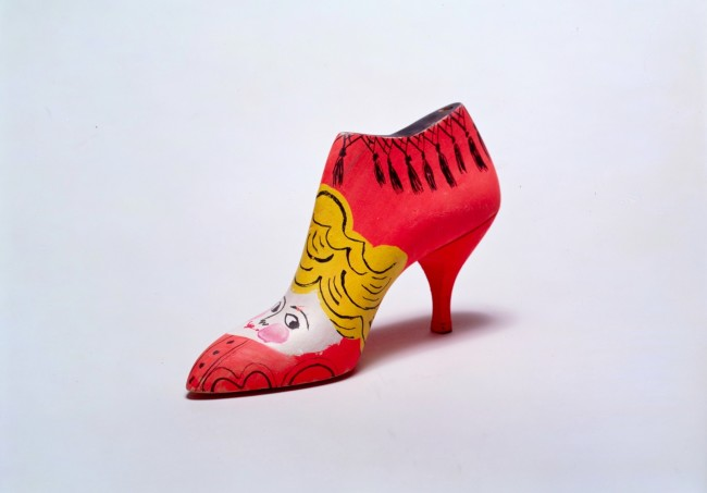 Andy Warhol, Shoe (red with blond cherub), 1958, Collezione Brant Foundation © The Brant Foundation, Greenwich (CT), USA © The Andy Warhol Foundation for the Visual Arts Inc. by SIAE 2013