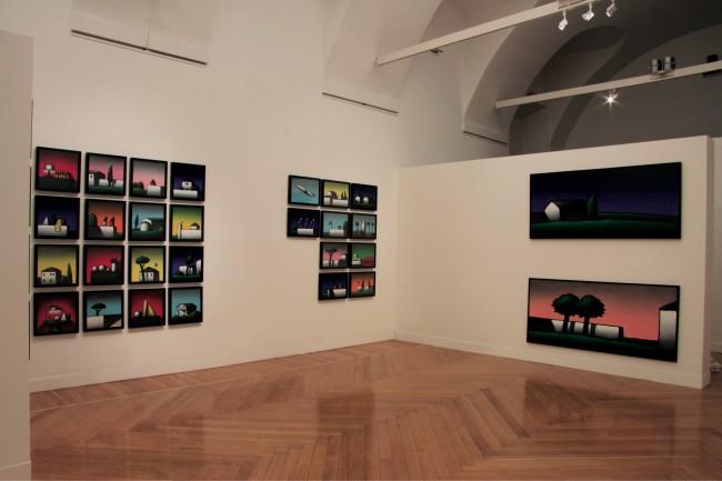 Tino Stefanoni. L'enigma dell'ovvio, veduta della mostra, Galleria Gruppo Credito Valtellinese, Milano