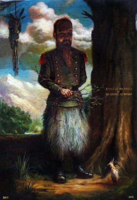 José Luis Serzo, Retrato de Mr Yeqly
