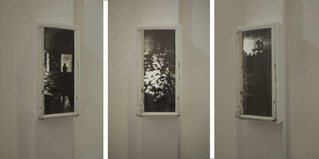 Alessandro Lupi, Berliner Fenster, 2013, Turn on the Bright Light. Courtsy Guidi&Schoen Arte Contemporanea