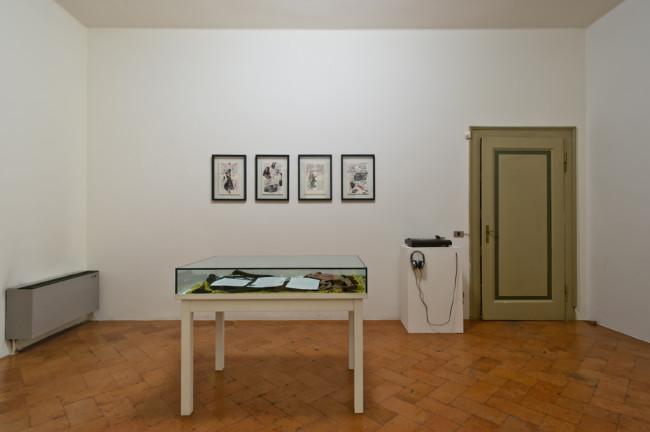 Chiara Fumai, veduta dell'installazione, stanza VI, A Palazzo Gallery, Brescia