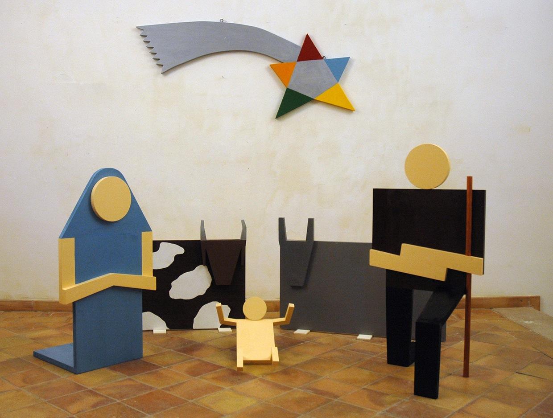 Lucio Del Pezzo, Presepe, 2013