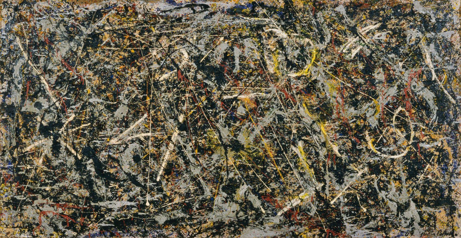 Jackson Pollock, Alchemy (Alchimia), 1947, Collezione Peggy Guggenheim, Venezia