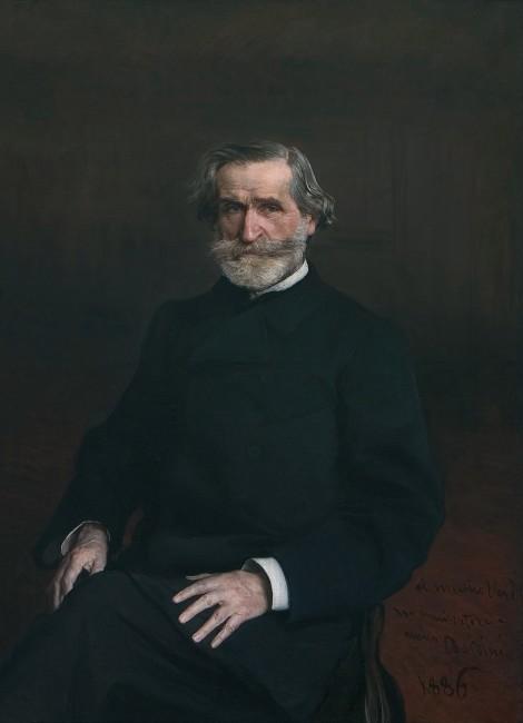 Giovanni Boldini, Ritratto di Giuseppe Verdi, 1886, olio su tela, 118x96 cm, Casa di Riposo per Musicisti, Fondazione Giuseppe Verdi, Milano