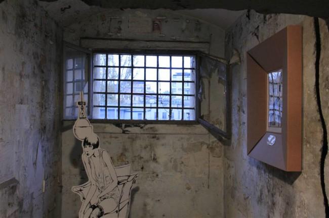 """Crepax, allestimento """"Il sogno tra le sbarre"""". Foto di Emanuele Bestetti per Archivio Crepax. Per gentile concessione ARCHIVIO CREPAX"""