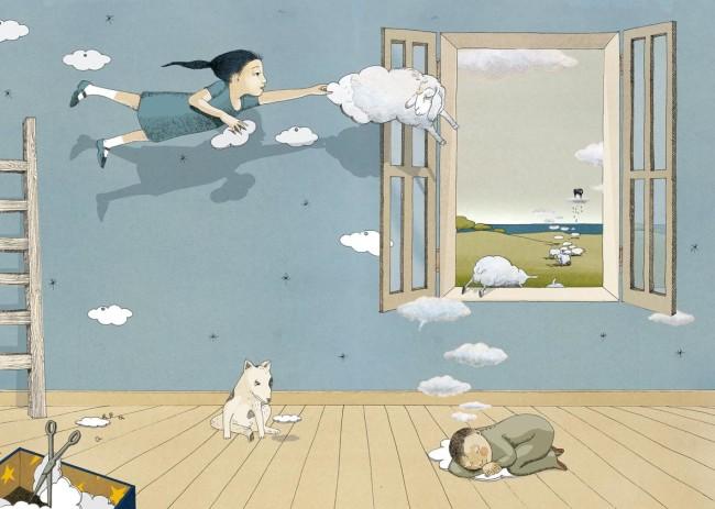 Alicia Baldan, Bambina con nuvole