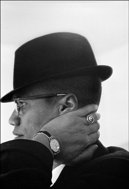 Eve Arnold, Malcolm X. Chicago, Illinois, USA. 1961