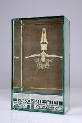 Premio Espoarte:Awards 2012/2013. Scultura realizzata da Silvia Celeste Calcagno. Foto: Luigi Cerati